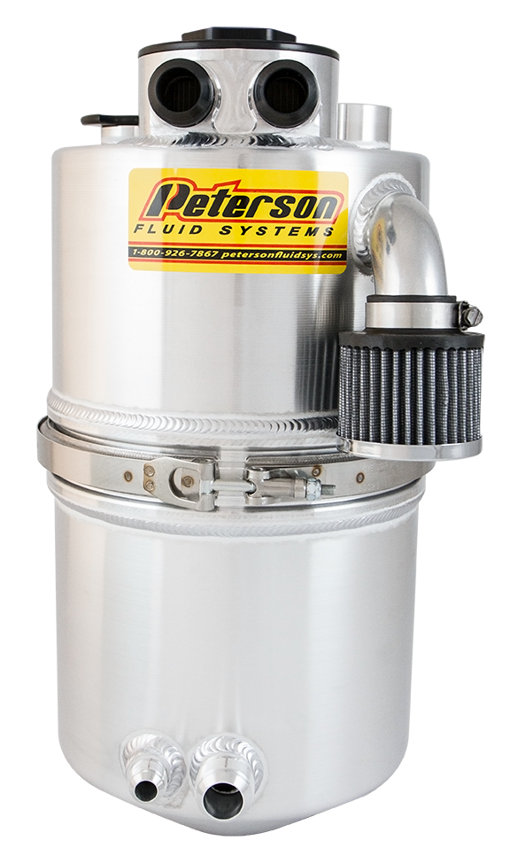 Dirt Late Model Air Cleaner : Dry sump oil tank dirt late model peterson fluid systems